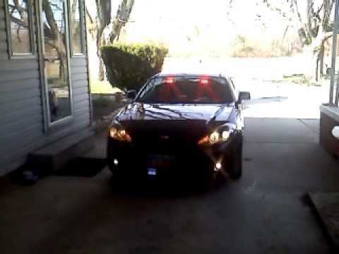 2008 Hyundai Tiburon New Lights Wig Wag Headlights