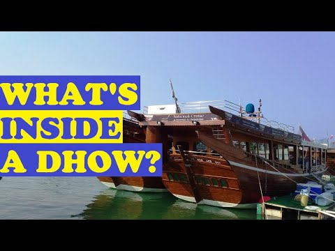 DHOW you know what's inside a DHOW boat in Qatar?