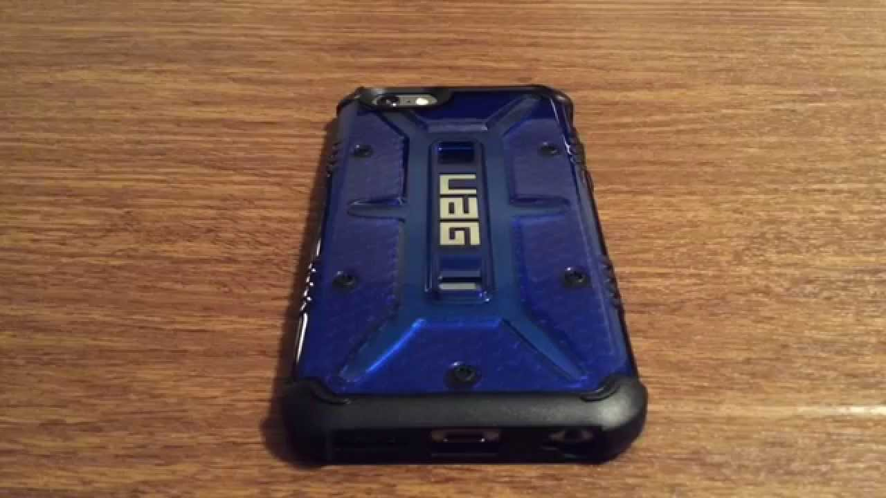 new styles 8c310 8cf92 Urban Armor Gear New Release Cobalt iPhone 6/6S Case Review