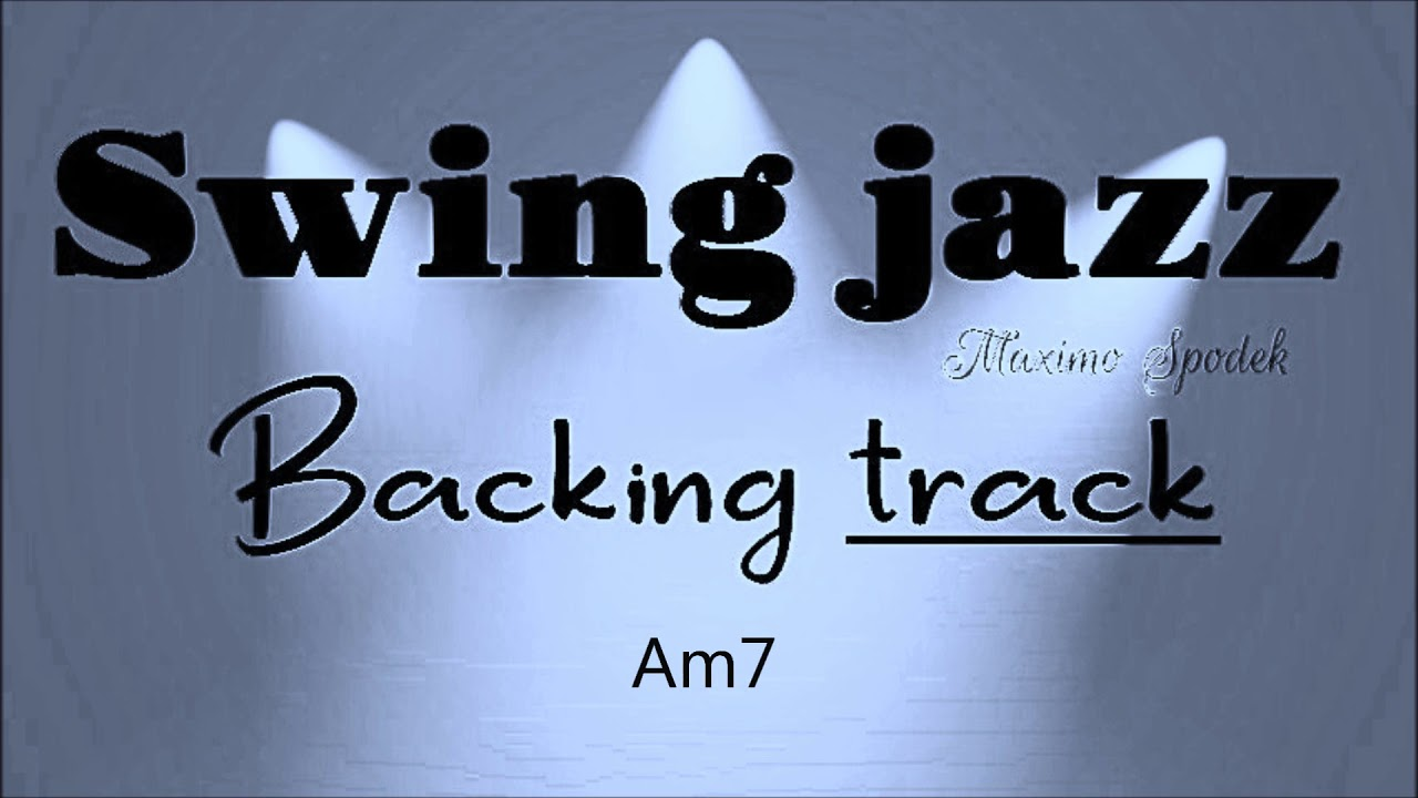 SWING JAZZ BACKING TRACK IN GMajor FOR PIANO, GUITAR, SAXOPHONE, JAZZ ORGAN, TRUMPET