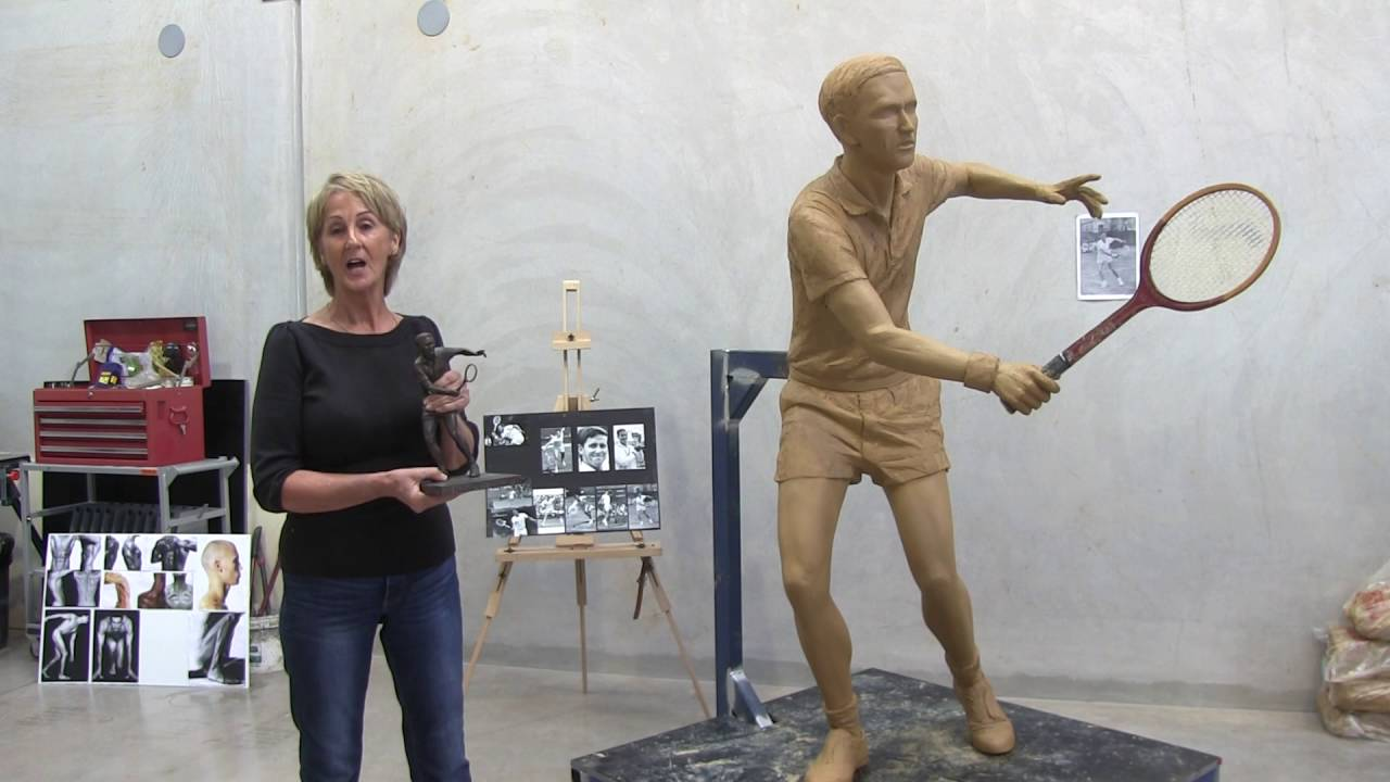 Roy Emerson Statue Plinth Fund Raising Blackbutt