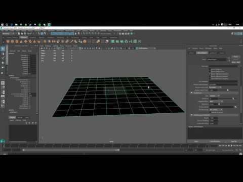 How to create an ocean shader in arnold