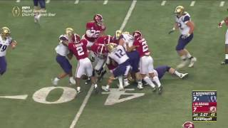 Alabama vs Washington CFP Chick-Fil A Peach Bowl Highlights
