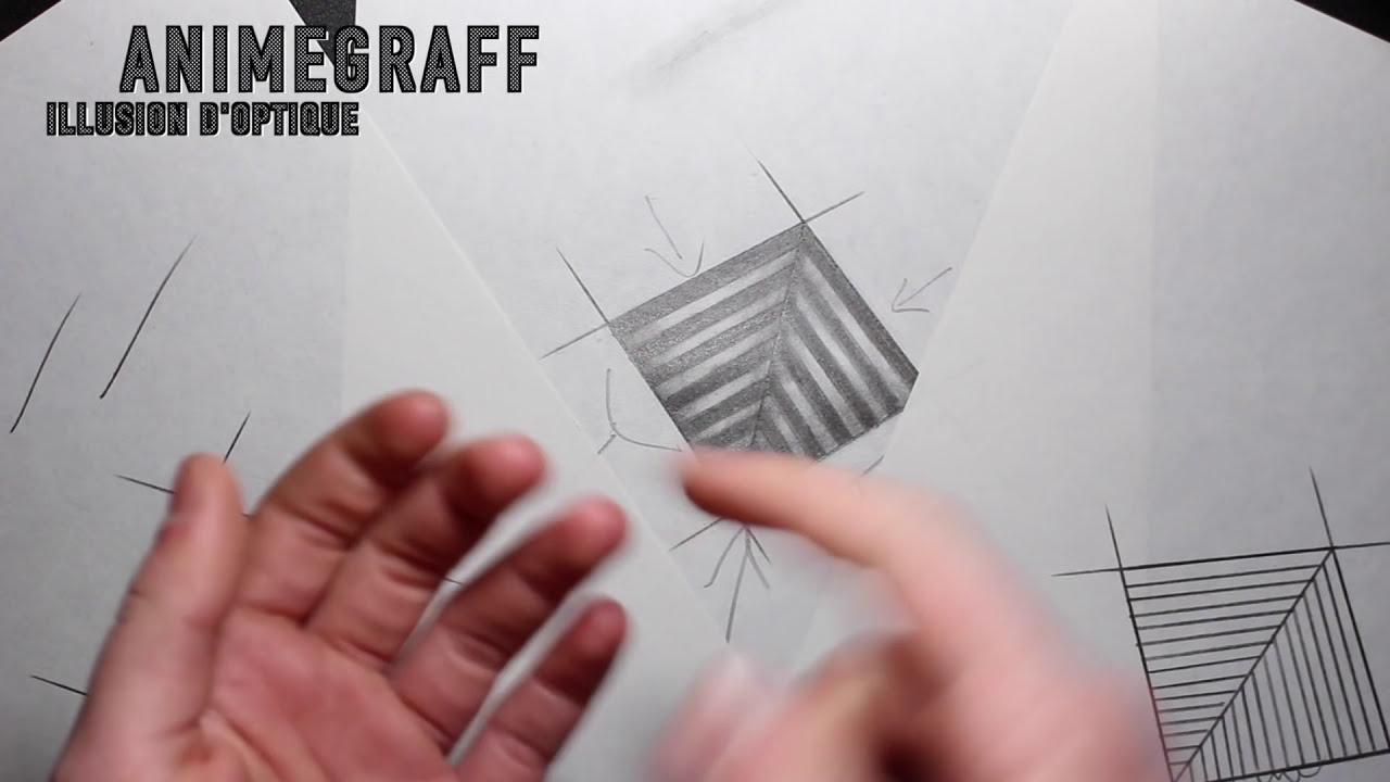 3d Dessin Facile Dessin Facile Illusion D 39optique