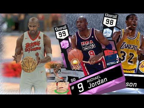 NBA 2K17 My Team - Pink Diamond Michael Jordan Gameplay! PS4 Pro 4K