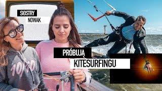 OLA NOWAK próbuje kitesurfingu na obozach Borsuk CAMPS *Borsuk Vlog*