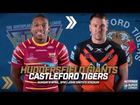 Huddersfield Giants v Castleford Tigers 08.04.18