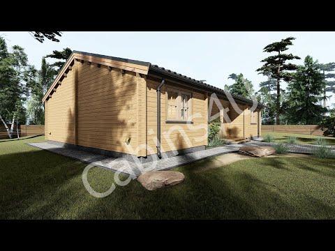 Model 22 log cabin