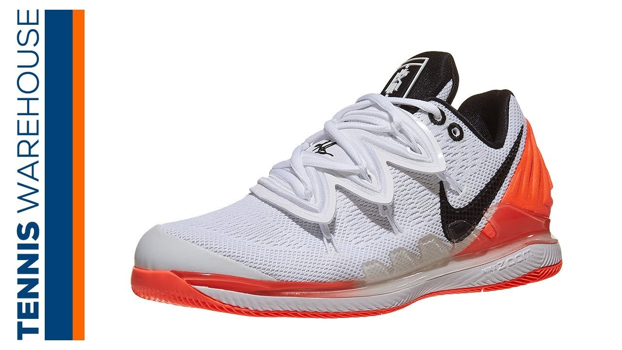 hardware luces Pais de Ciudadania  First Look: Nike Air Zoom Vapor X Kyrie 5 Tennis Shoe - YouTube