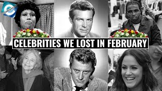 Celebrities We Lost in February 2020 | Kirk Douglas, Robert Conrad & Others
