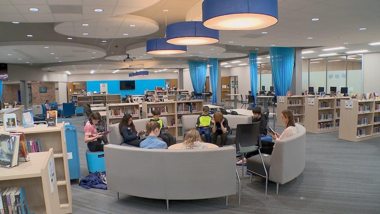 Design for learning media center youtube for Media center plans