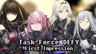 Task Force DEFY First Impression | Girls' Frontline