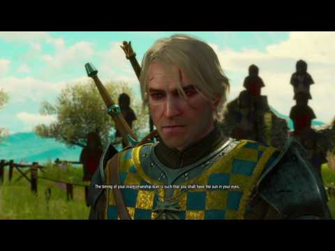 The Witcher 3 DLC: Blood and Wine pt12 - Behold, the Glitch Pose!/GWENT RETURNS?! NOOO