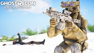 SUPREME STEALTH WITH SN-9MM ASSAULT SMG in Ghost Recon Breakpoint Free Roam