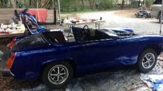 1976 MG Midget Rebuild