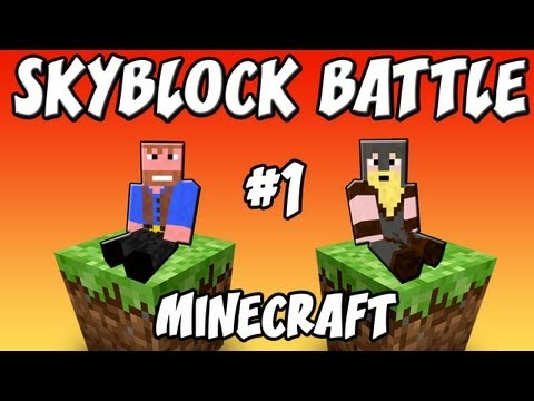 SKYBLOCK BATTLE ★ Minecraft:  Ep.1, Dumb and Dumber