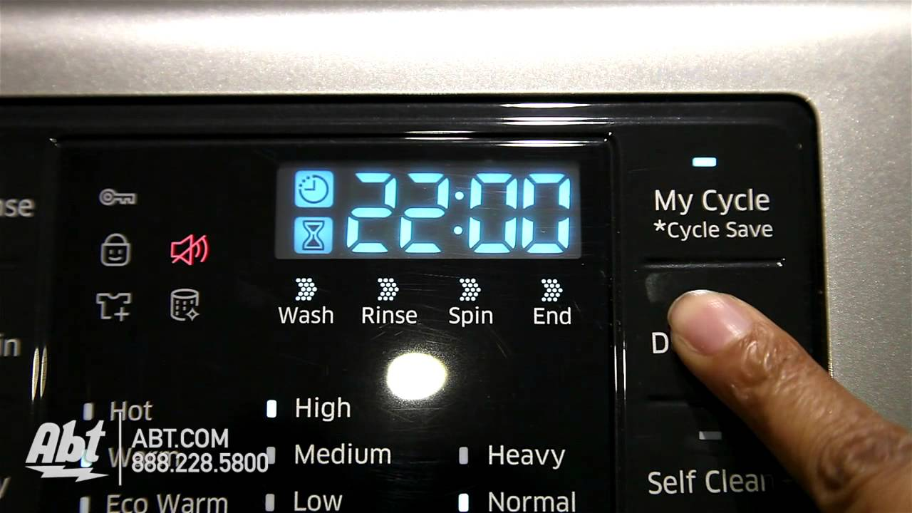 samsung front load washer wf42h5200 overview youtube. Black Bedroom Furniture Sets. Home Design Ideas