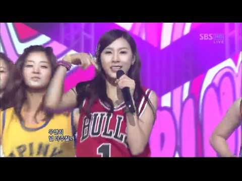A Pink - MY MY (에이핑크-  MY MY) @SBS Inkigayo 인기가요 20111204