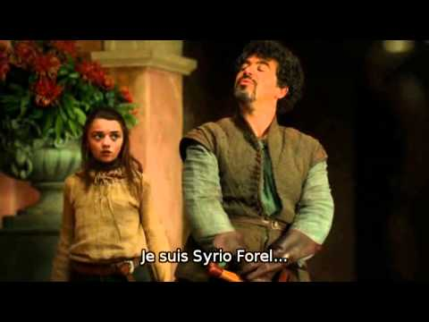 Game Of Thrones - Episode 8 -  Syrio Forel VS Lannister Men's VOstfr