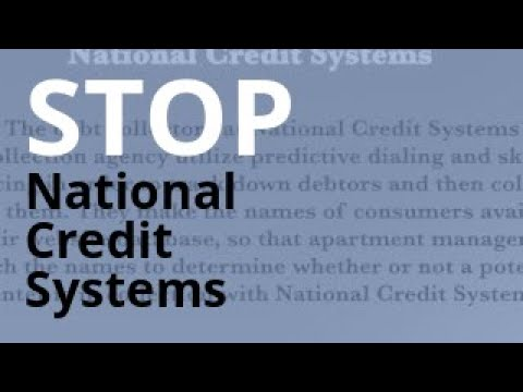 National Credit Systems Harassment Free Legal Help