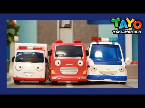 Tayo The brave cars and it's Tayo toys! l Tayo's Sing Along Show 1 l Tayo the Little Bus