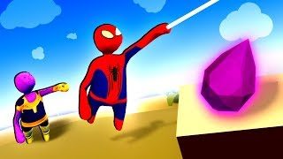 Spiderman Helps Thanos Break Reality After Getting All Infinity Stones in Human Fall Flat!