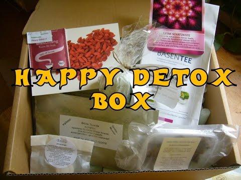 Unboxing HAPPY DETOX BOX von Heike Bauer