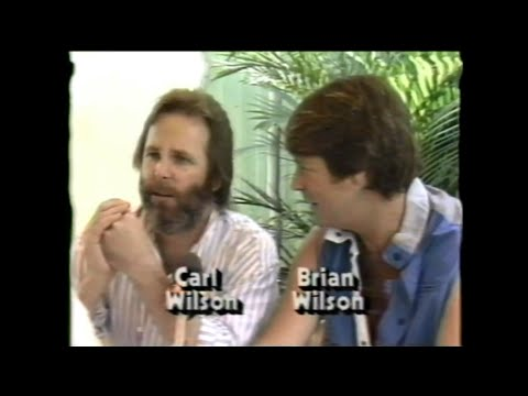 MTV Interview - Brian & Carl Wilson (MTV - Live Aid 7/13/1985)