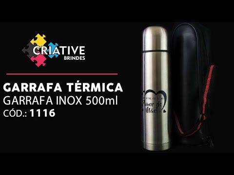 Garrafa Térmica 500ml 1116 Personalizada para Brindes