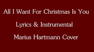All I Want For Christmas Is You (lyrics - instrumental - cover by MultiHardy90)