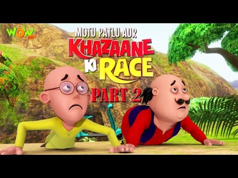 Motu Patlu Aur Khazaane Ki Race | Part 02 Movie| Movie Mania | Wow Kidz thumbnail
