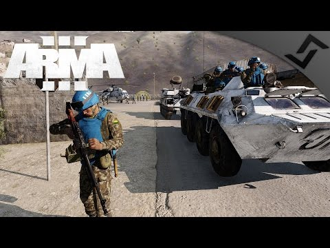 United Nations PKM Peacekeeping - ARMA 3 - 1st Person COOP Gameplay