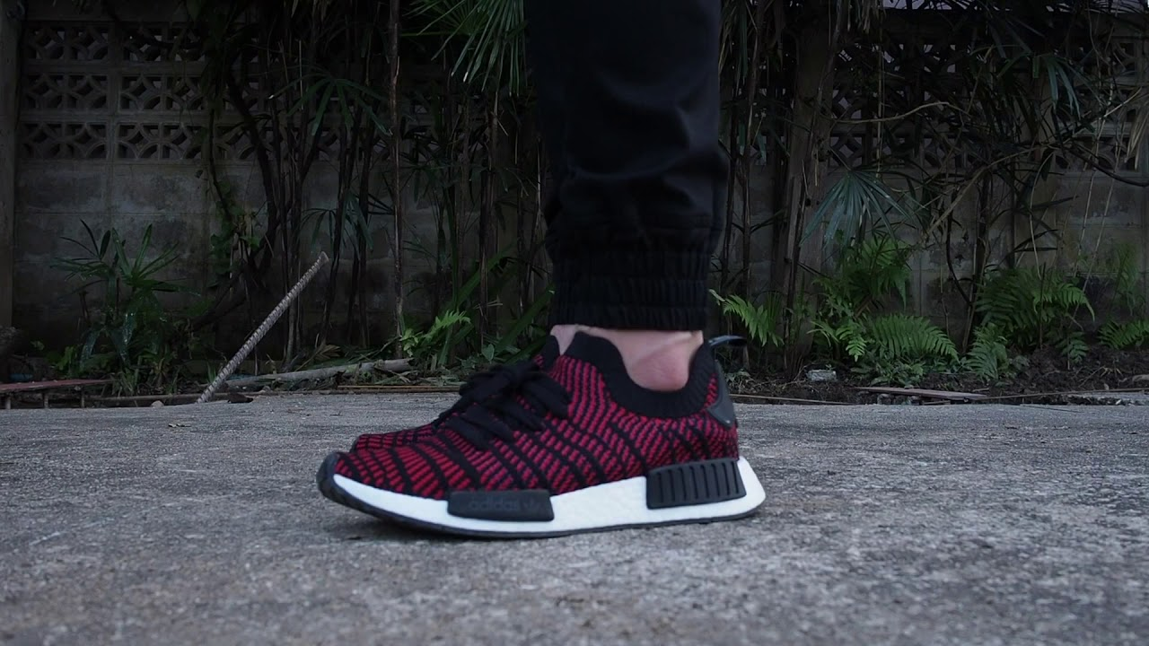 a60904960 NMD R1 PK STLT on Feet - YouTube
