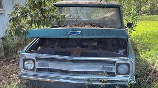 Will it run and drive after 30 years 1969 Chevy truck