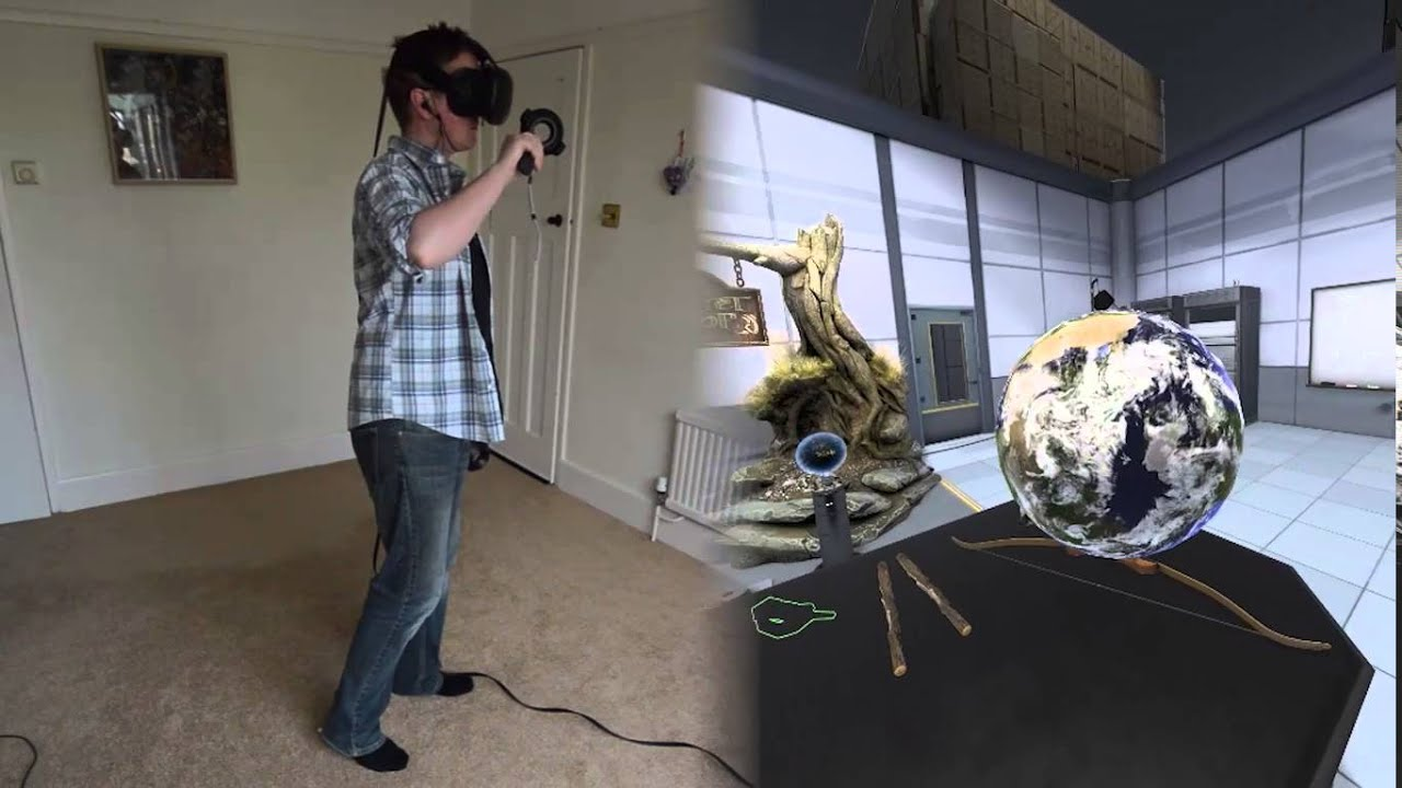 Portal VR: 'The Lab' Toys and Experience Hub