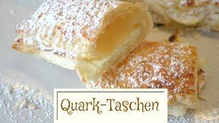 DIY - Quarktaschen | Schnell & Einfach Selber Machen | Quark Tasche Rezept (Back Lounge) Rezepte