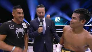 GLORY 67: Petchpanomrung Post-Fight Interview