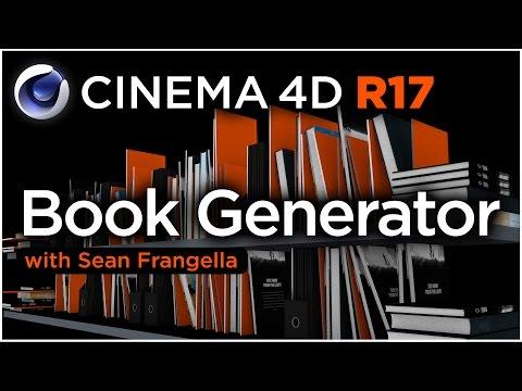 Cinema 4D R17 - Book Generator Overview & Tutorial - Sean Frangella
