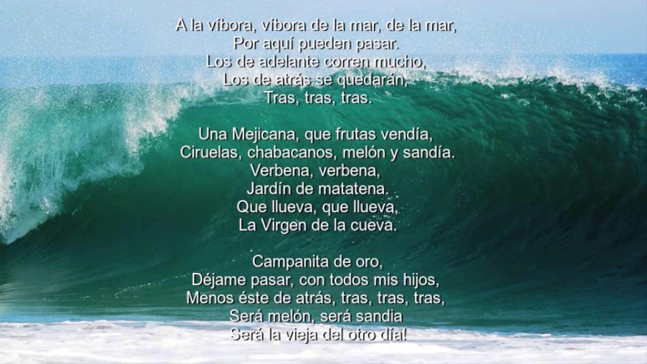 A la víbora - Mexican Children's Songs - Mexico - Mama ...