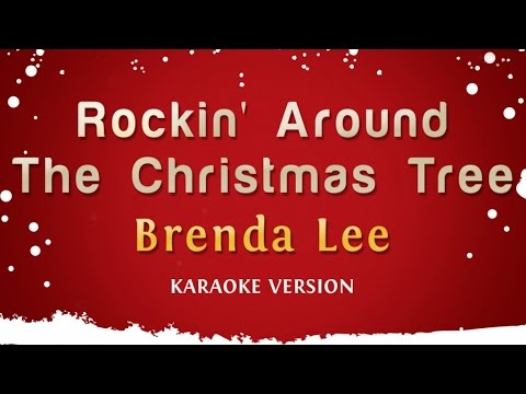 Brenda Lee  Rockin Around The Christmas Tree Karaoke Version