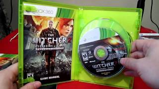 The Witcher 2: Assassins of Kings Enhanced Edition -Unboxing- Xbox 360
