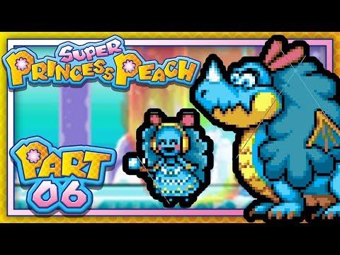Super Princess Peach:  Part 6 - World 6 - Gleam Glacier! (Let's Play)