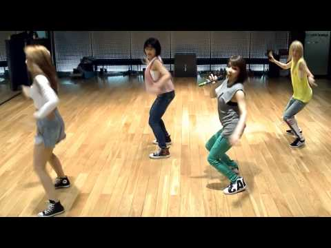 2NE1 'Falling In Love' mirrored Dance Practice