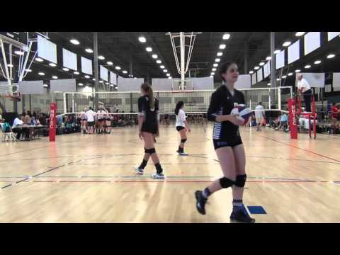 BVA 18-3d Danko vs Coast 17 Brittany SCVA Volleyball 2016 Mandatory 4