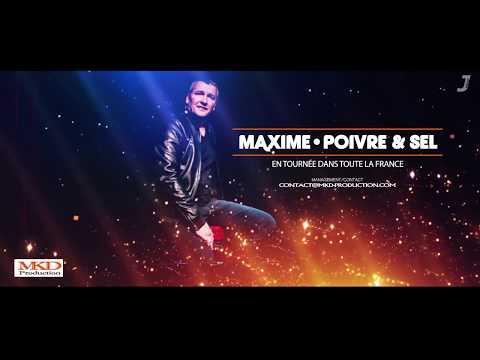 Maxime: Découvrez le Teaser de son nouveau One-Man Show !