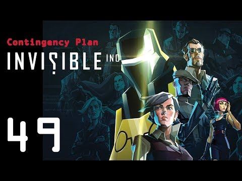 Invisible Inc. Contingency Plan 49 - attacking a level 20 company (10-08-17)