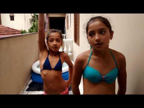 Desafio da piscina com pergunta
