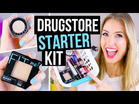 Beginner Makeup Tips \u0026 Starter Kit || Drugstore Faves!