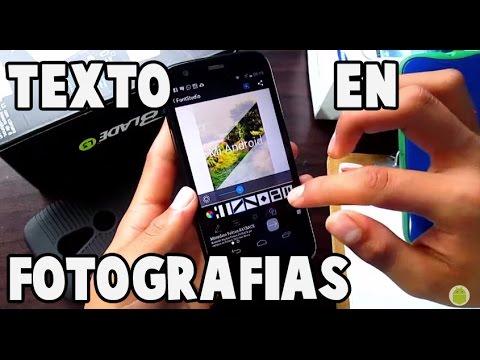 Como poner texto en tus fotos android mi android youtube for Cuadros para poner fotos