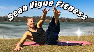 BURNING ABS & CORE Bodyweight Only Workout - Sean Vigue Fitness